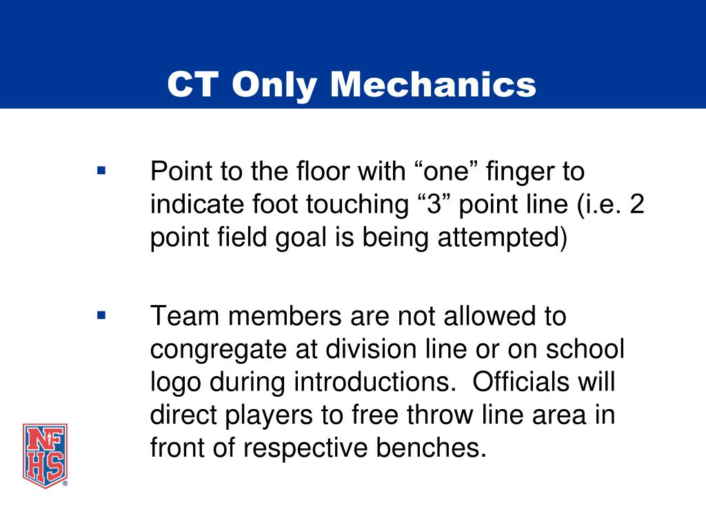 CT Only Mechanics