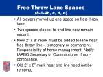 free throw lane spaces 8 1 4b c d e