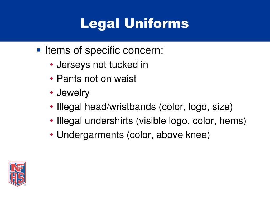 Legal Uniforms