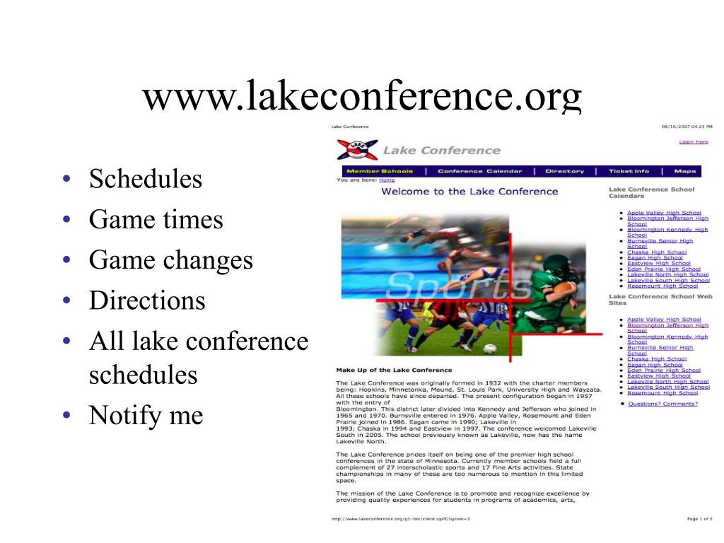 www.lakeconference.org
