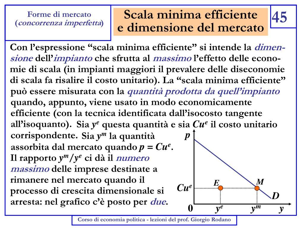 Scala minima efficiente