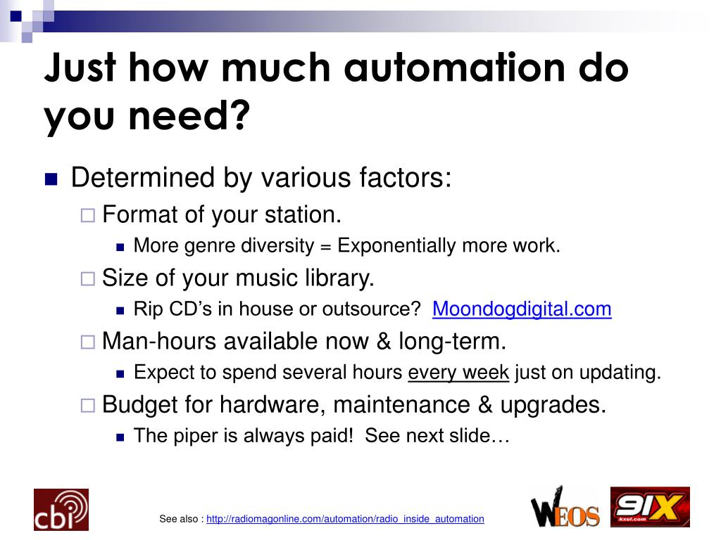 Just how much automation do you need?