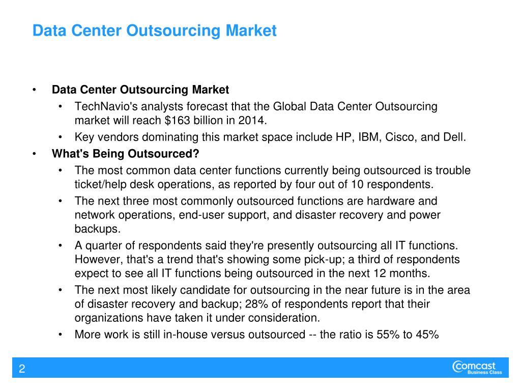 Data Center Outsourcing Market