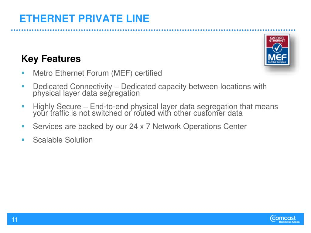 ETHERNET PRIVATE LINE