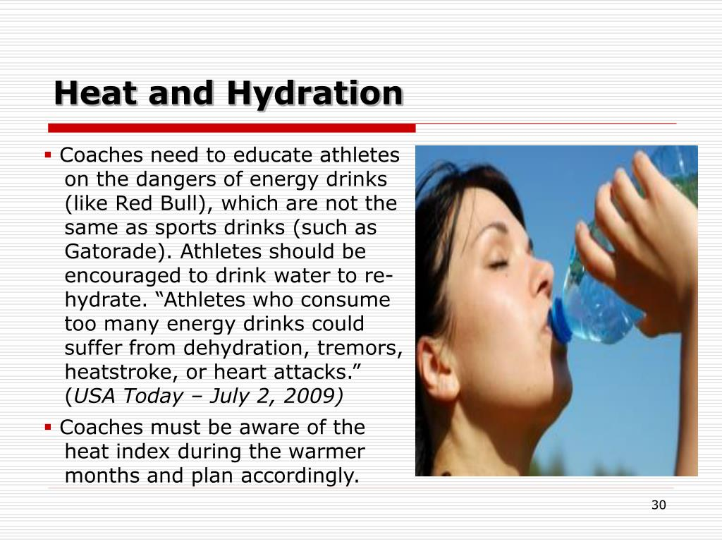 Heat and Hydration