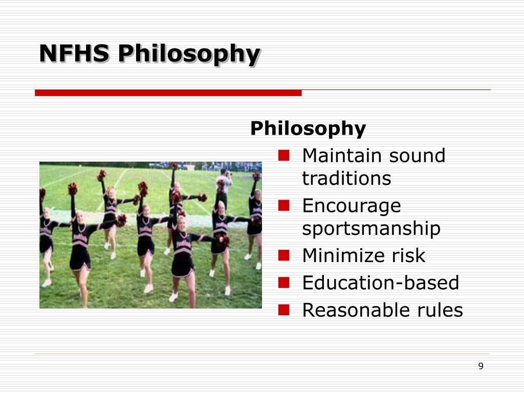 NFHS Philosophy