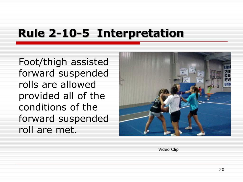 Rule 2-10-5  Interpretation