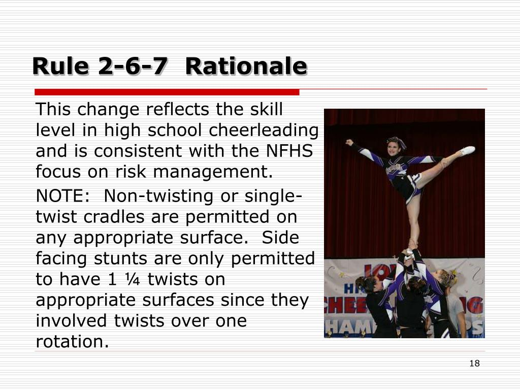 Rule 2-6-7  Rationale