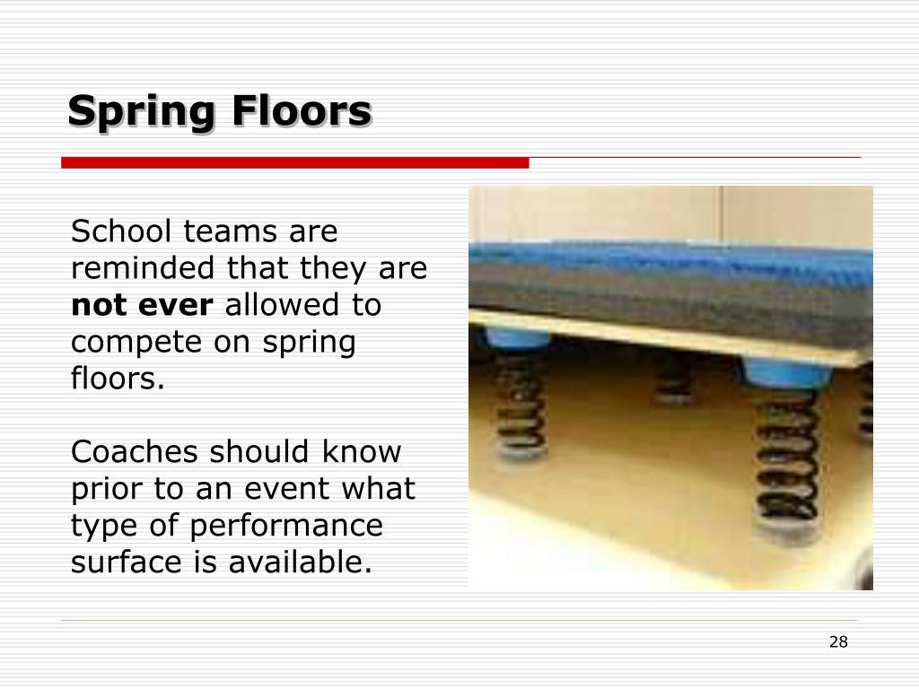 Spring Floors