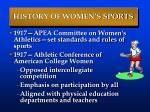history of women s sports66