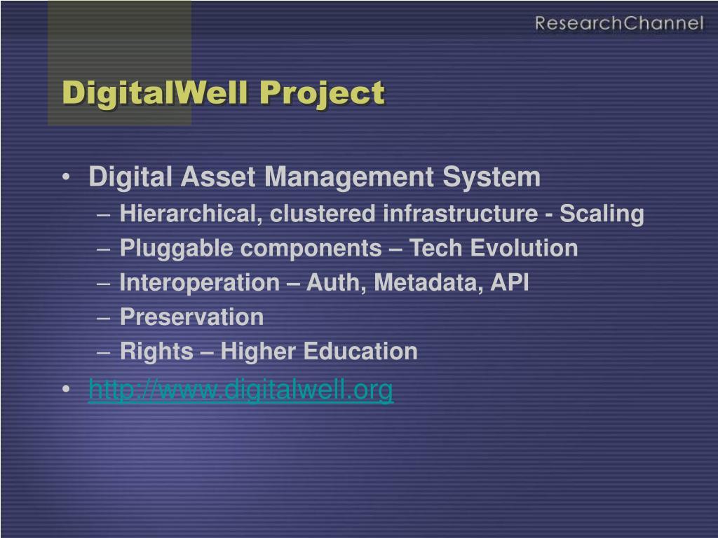 DigitalWell Project