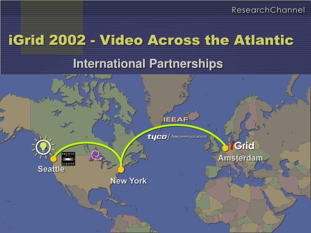iGrid 2002 - Video Across the Atlantic