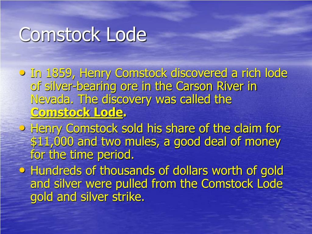 Comstock Lode