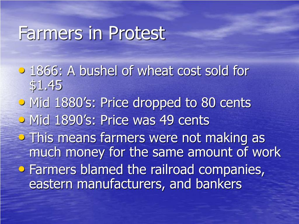 Farmers in Protest