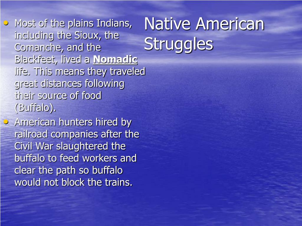 Native American Struggles