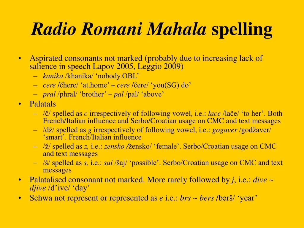 Radio Romani Mahala