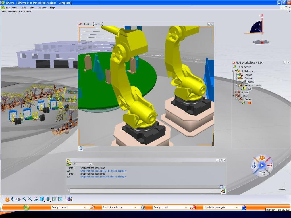 Dassault Systems 3D Live