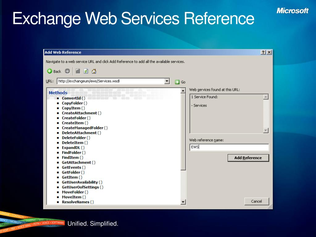 Exchange Web Services Reference