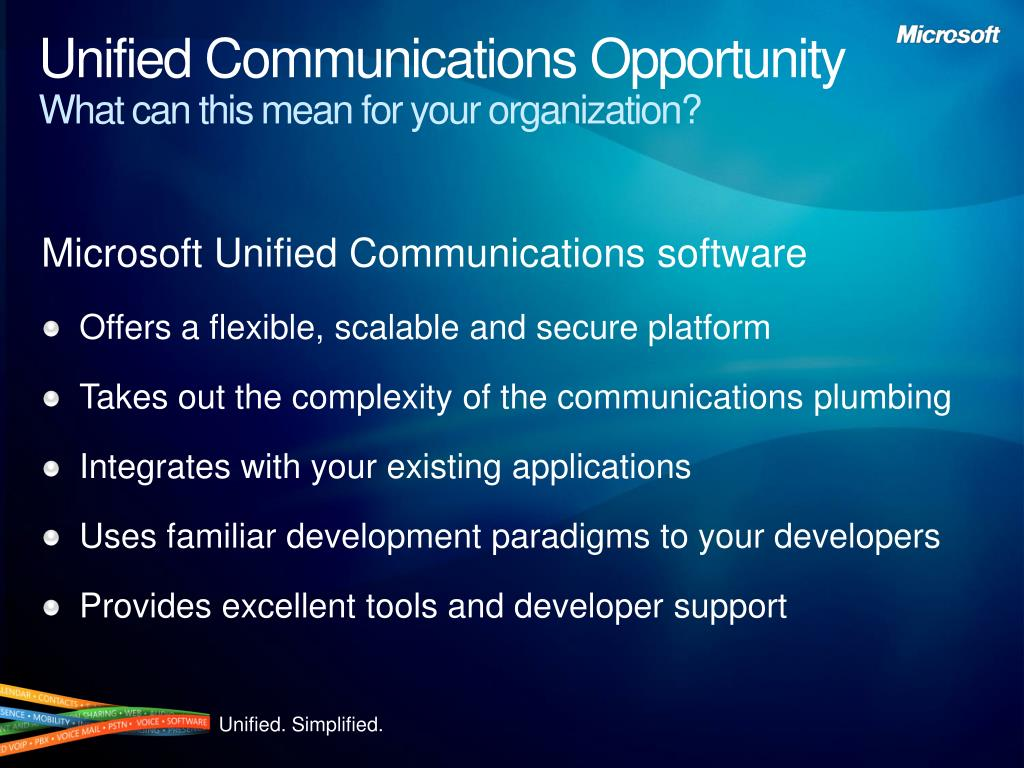 Unified Communications Opportunity