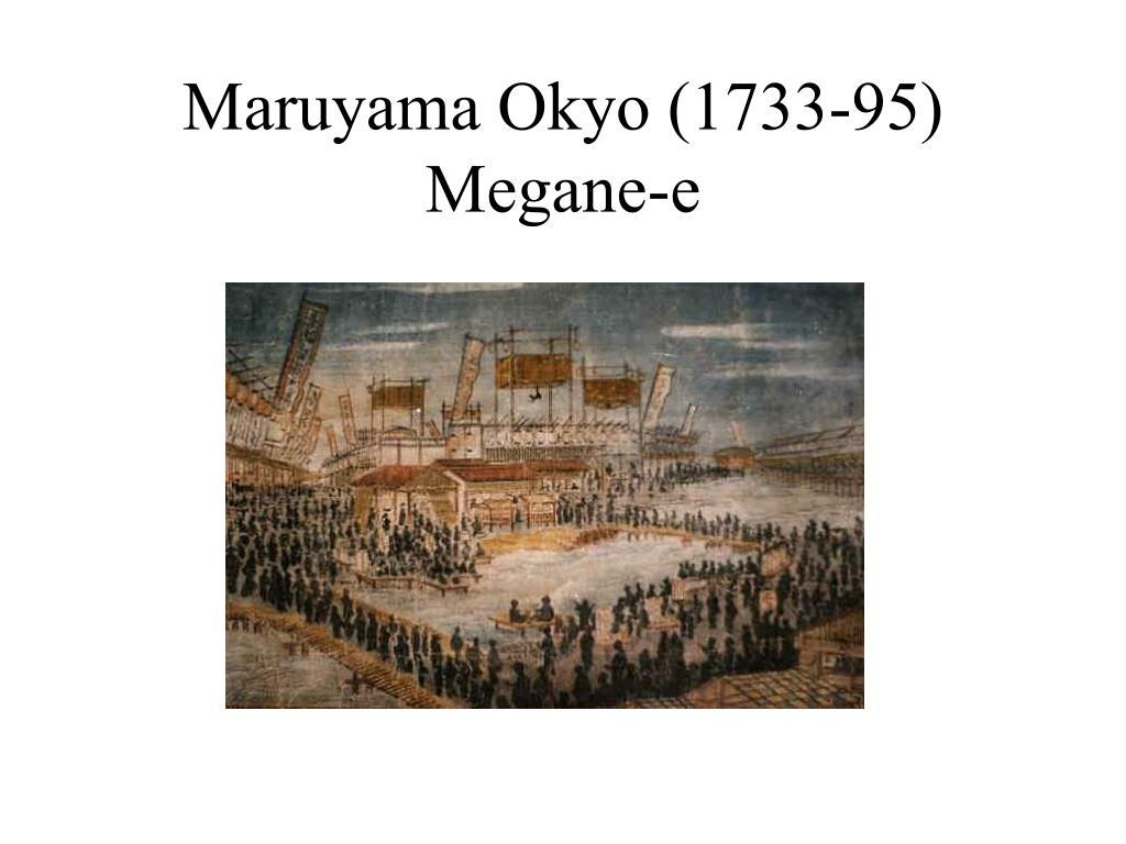 Maruyama Okyo (1733-95) Megane-e