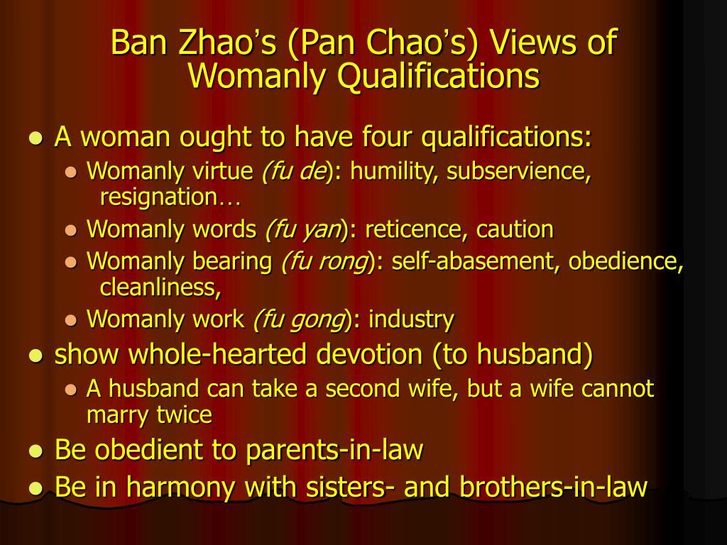 Ban Zhao