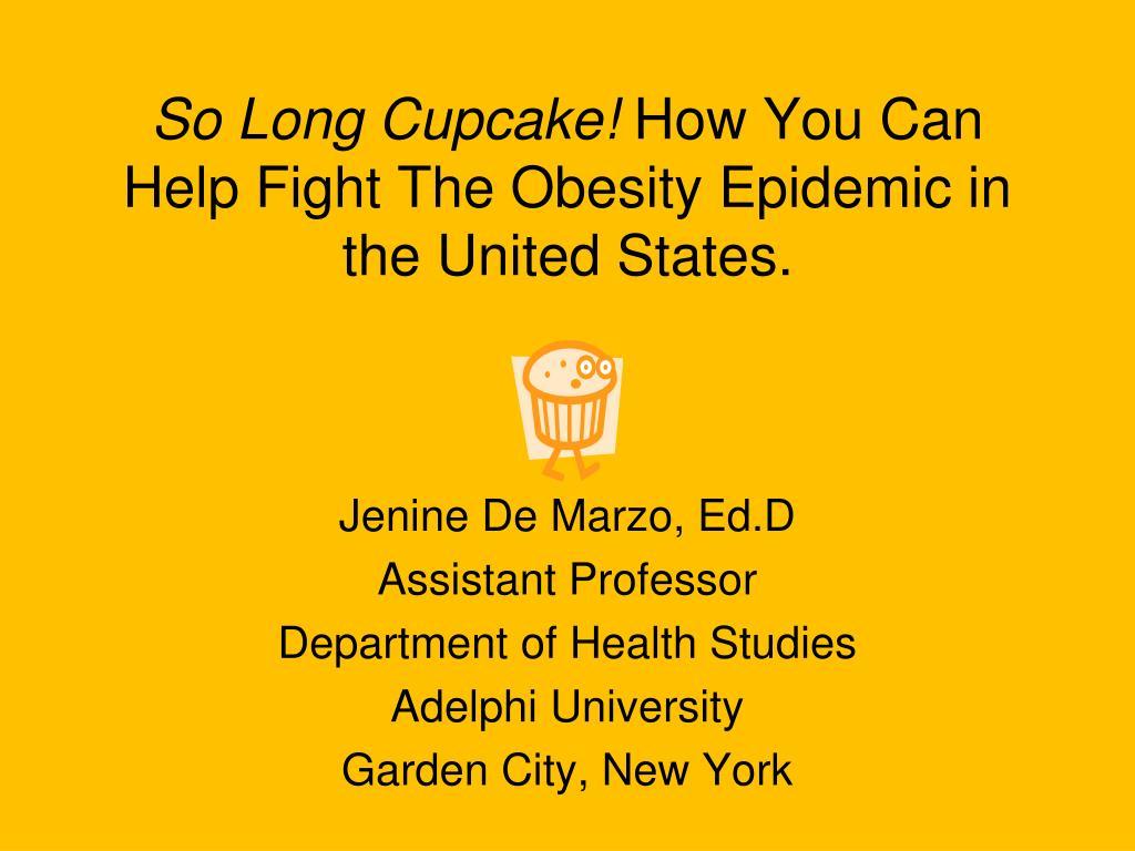 So Long Cupcake!