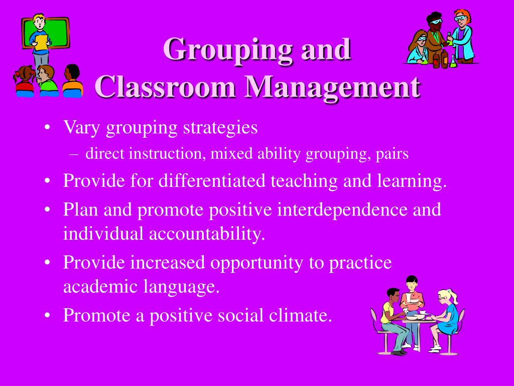 Grouping and