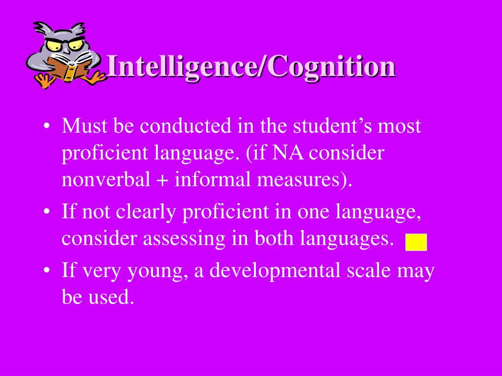 Intelligence/Cognition