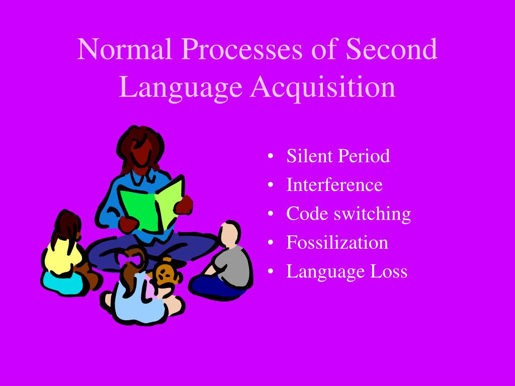 Normal Processes of Second Language Acquisition