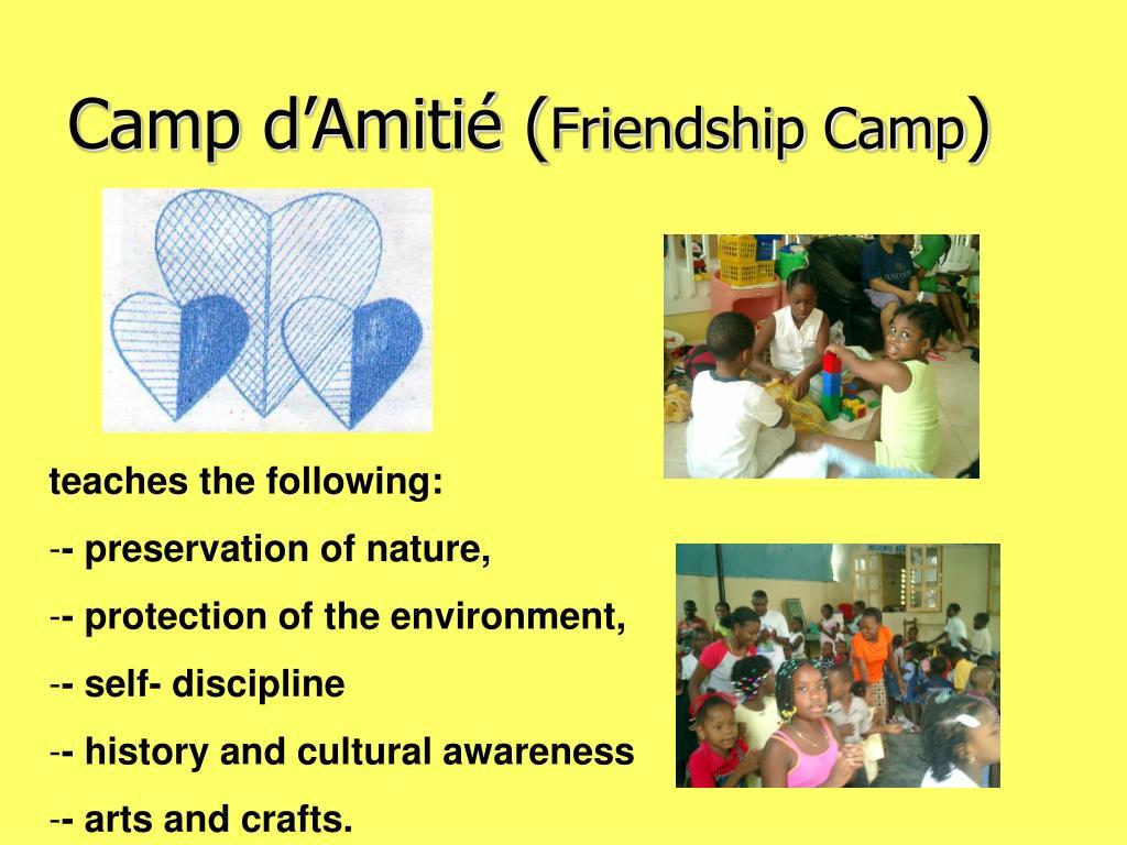 Camp d'Amitié (