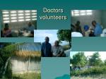 doctors volunteers