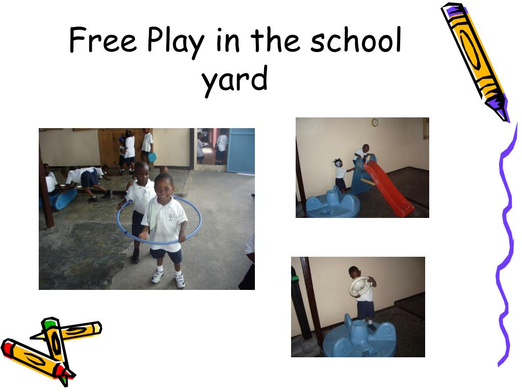 Free Play in the school yard