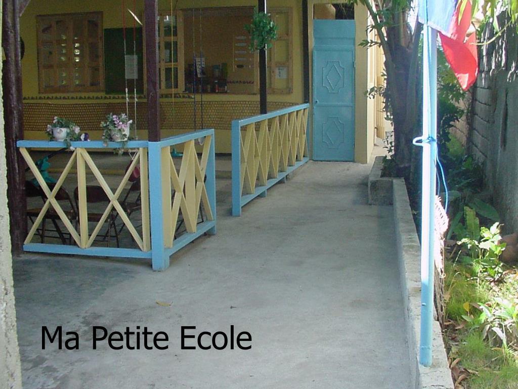 Ma Petite Ecole