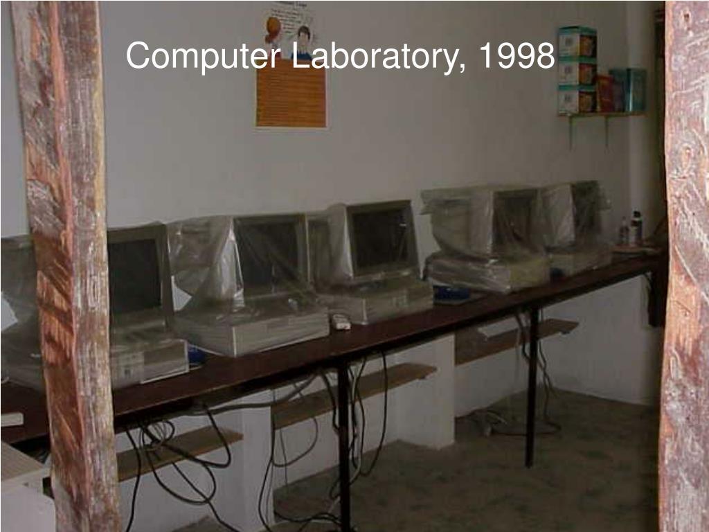 Computer Laboratory, 1998