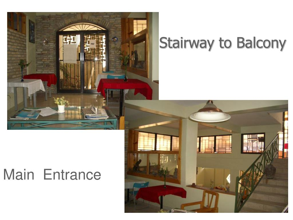Stairway to Balcony