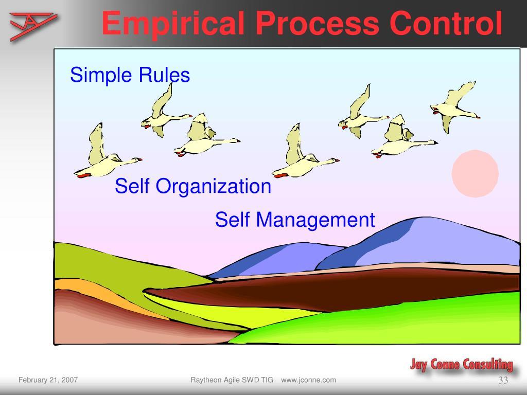 Empirical Process Control