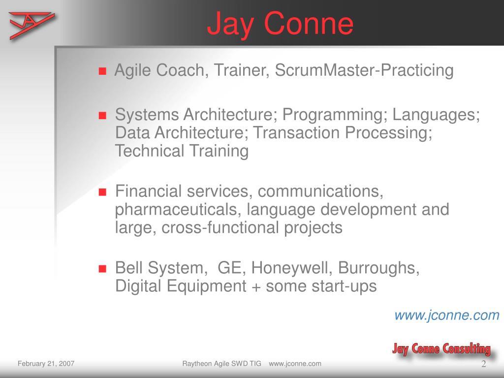 Agile Coach, Trainer, ScrumMaster-Practicing