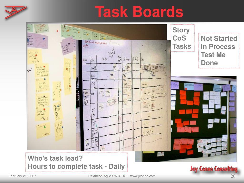Task Boards