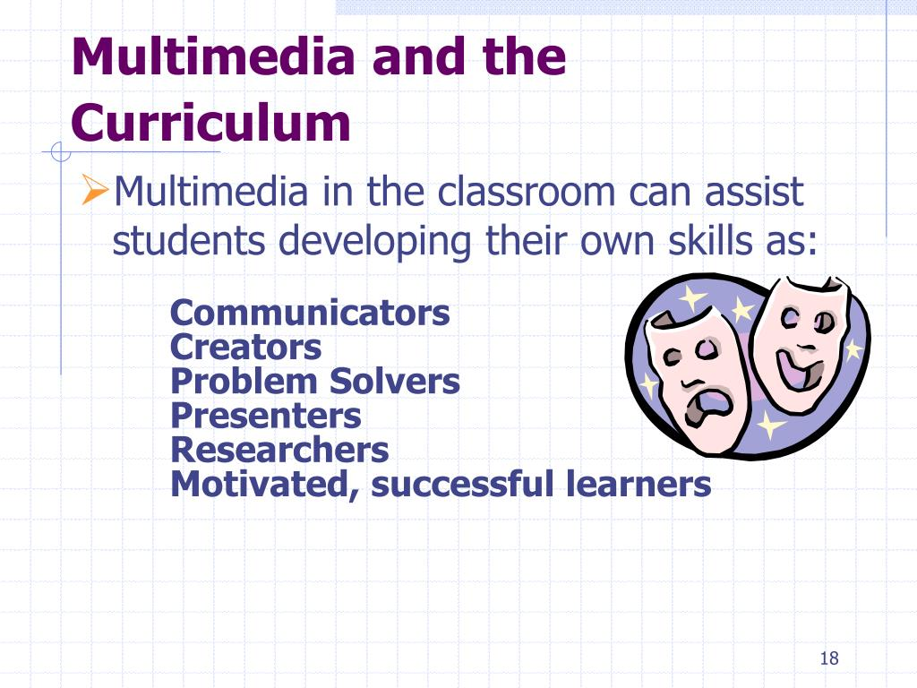 Multimedia and the Curriculum