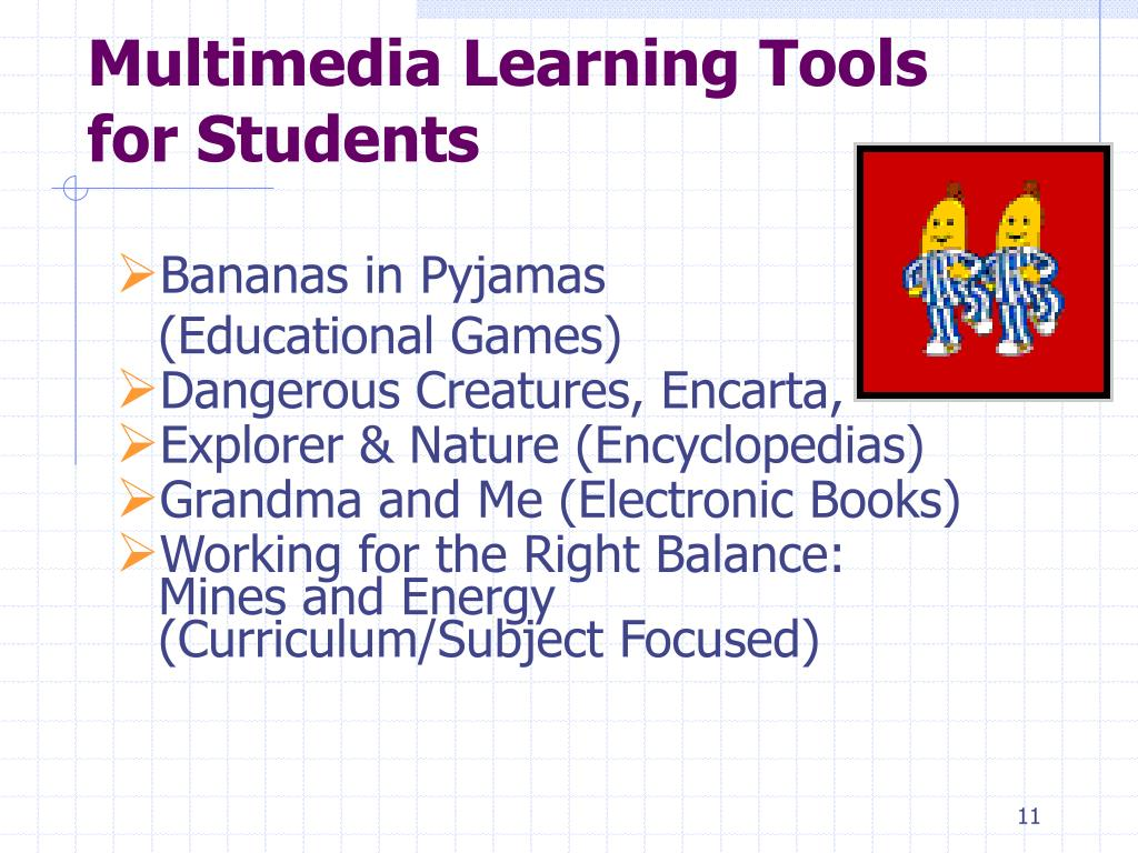 Multimedia Learning Tools for Students
