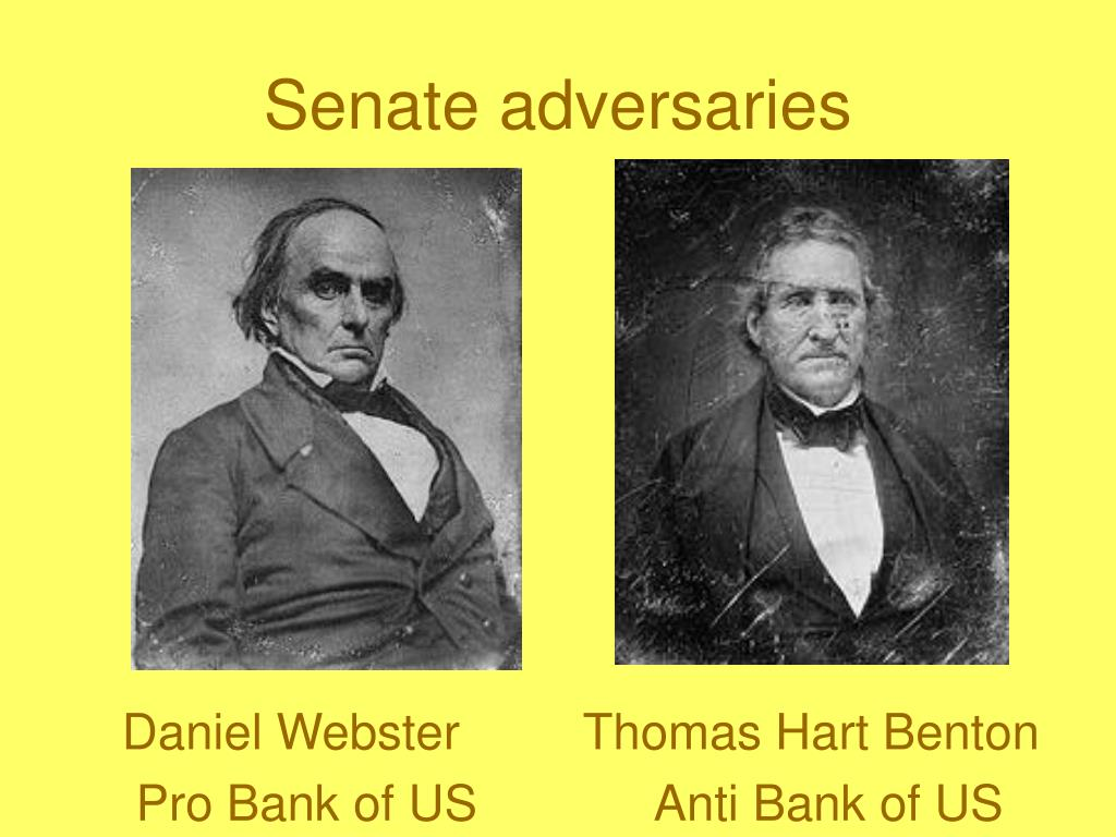 Senate adversaries