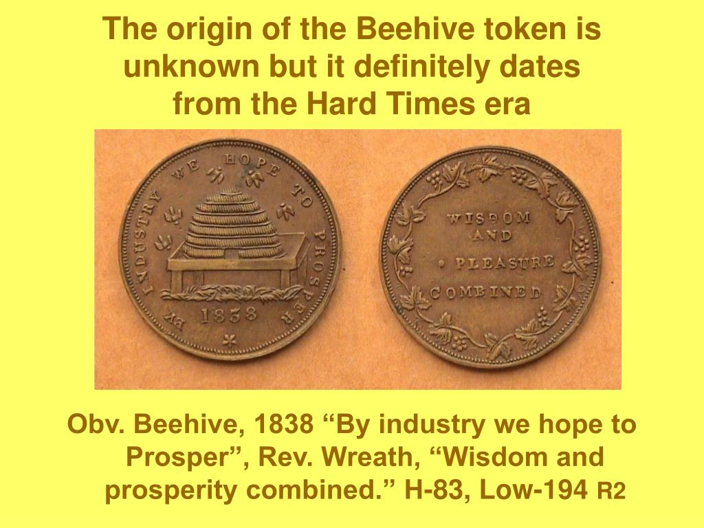 The origin of the Beehive token is unknown but it definitely dates