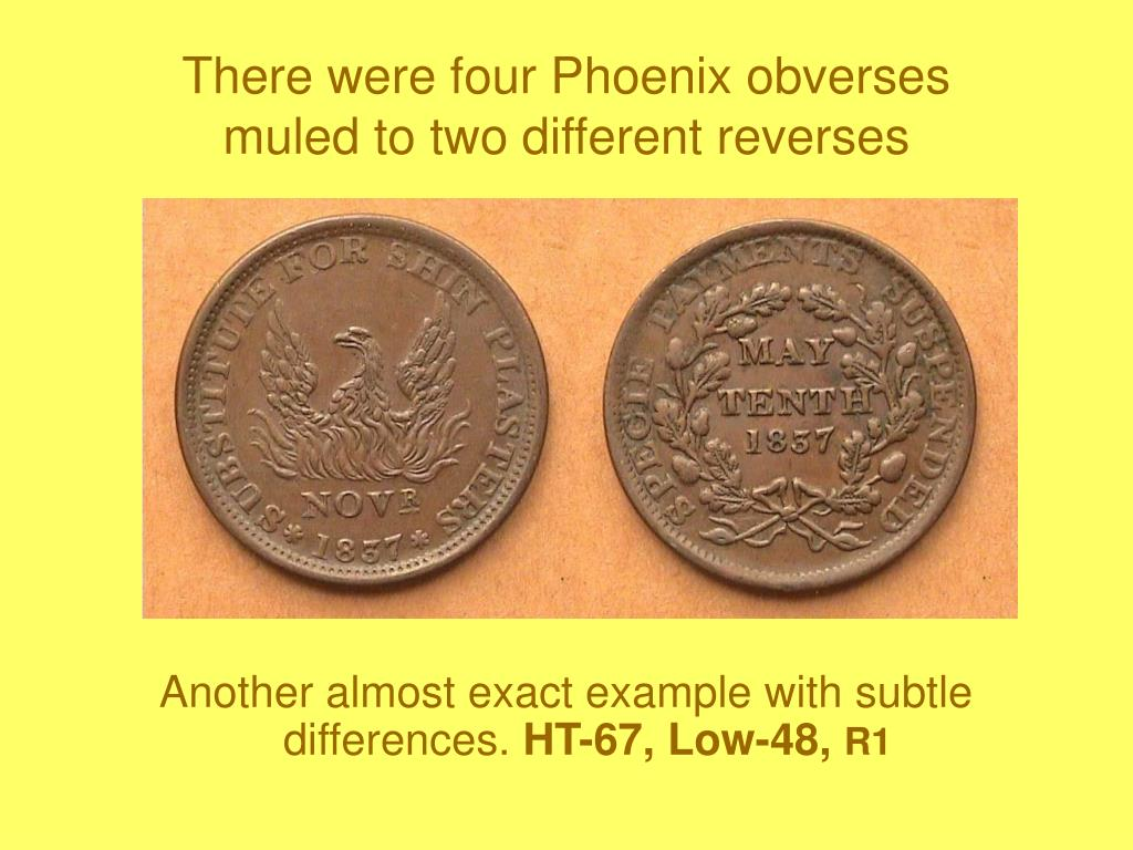 There were four Phoenix obverses