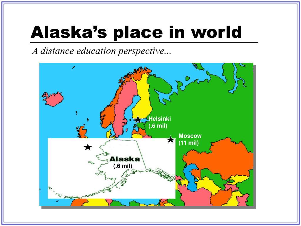 Alaska's place in world