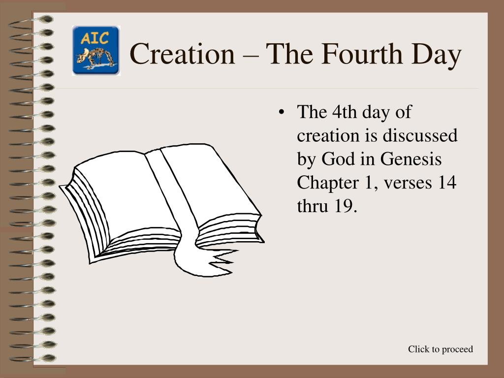 Creation – The Fourth Day