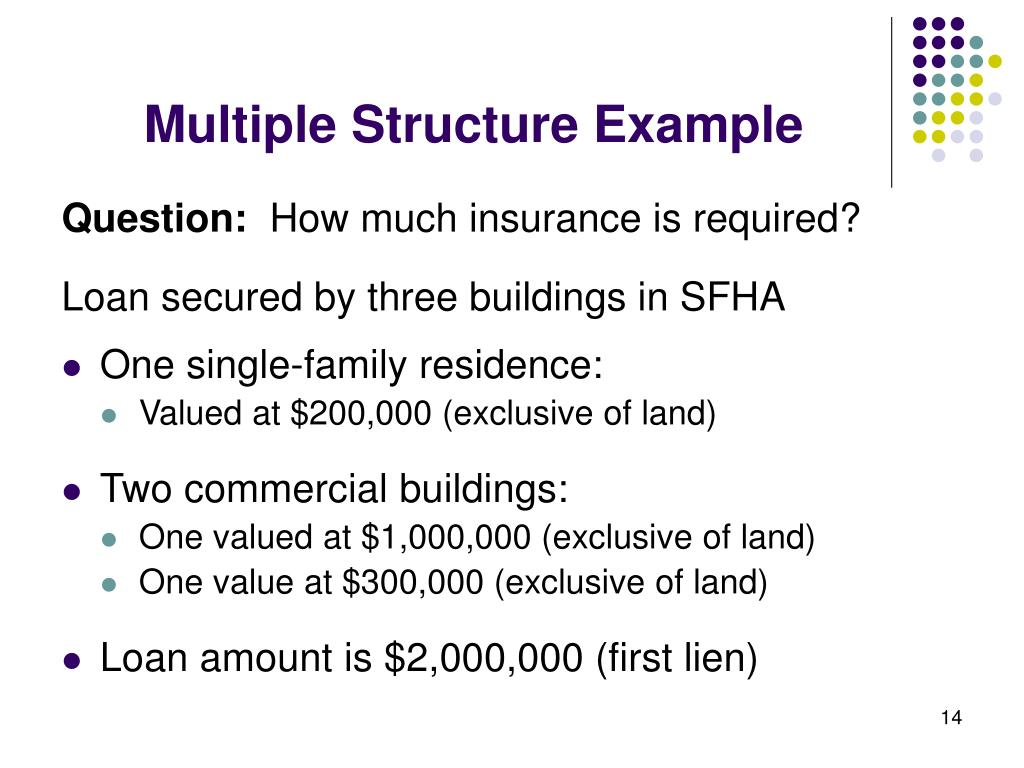 Multiple Structure Example
