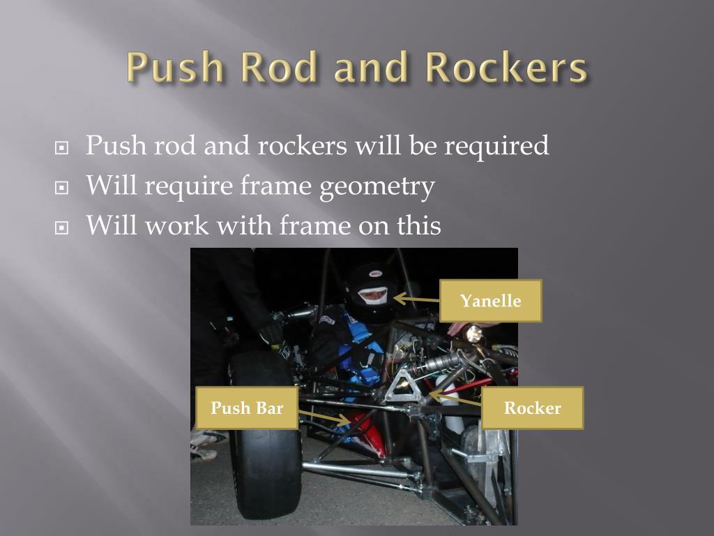 Push Rod and Rockers