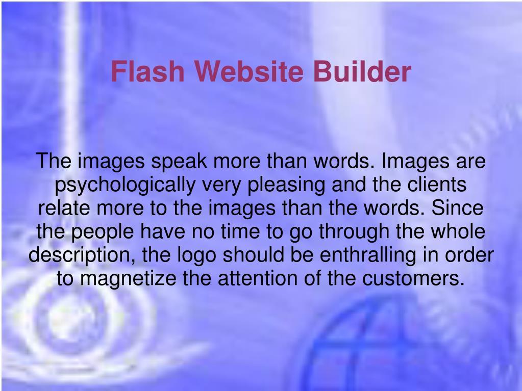 Flash Website Builder