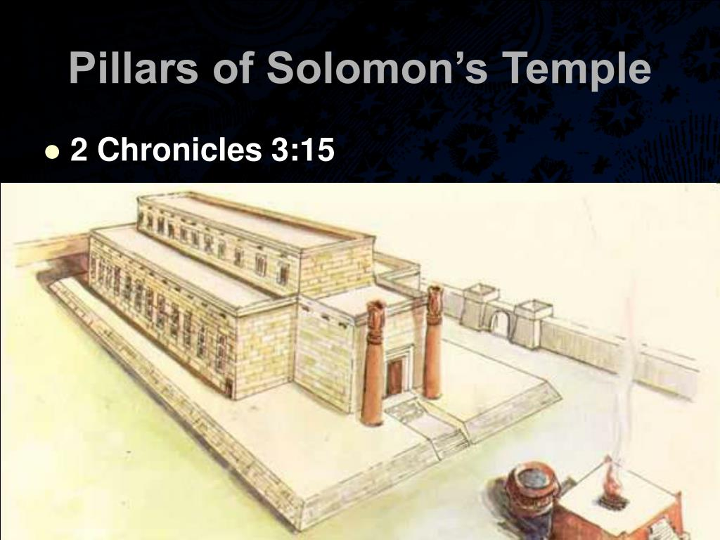 Pillars of Solomon's Temple