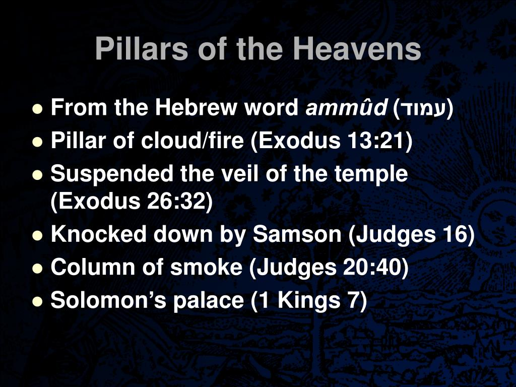 Pillars of the Heavens